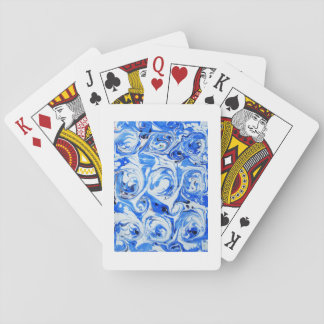 Marbled Ocean Playing Cards