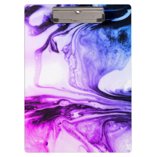 Marbled Pattern Stationary Clipboard