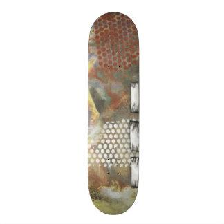 Marbled Pixels II Skate Boards