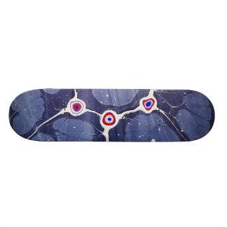 Marbled Pop Art 21.3 Cm Mini Skateboard Deck