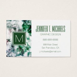 Marbled Quartz Texture Business Card