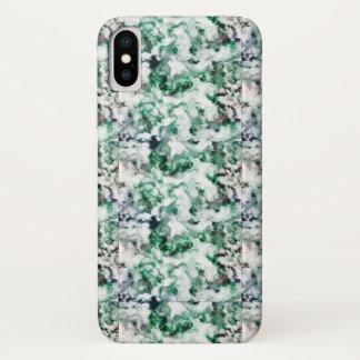 Marbled Quartz Texture iPhone X Case