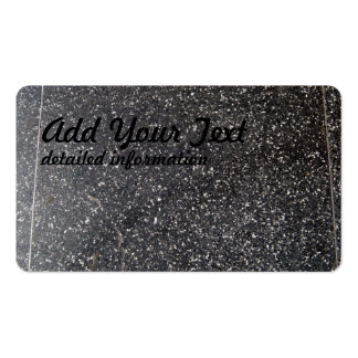 marbled stone tile black white pack of standard business cards