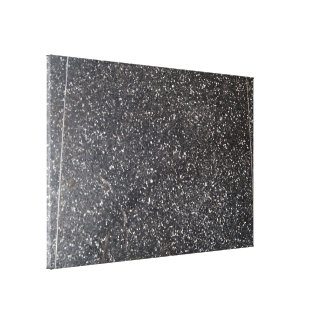 marbled stone tile black white gallery wrapped canvas