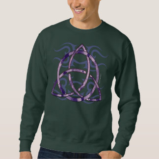Marbled Triquetra Men's Long Sleeve Shirt