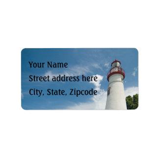 Marblehead Lighthouse Address Label