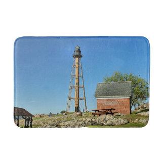 Marblehead Lighthouse, Massachusetts Bath Mat