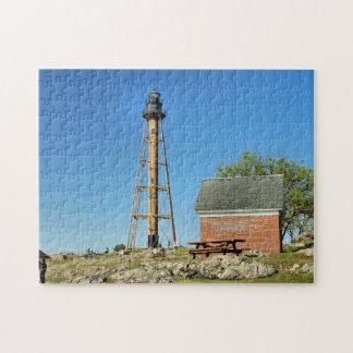 Marblehead Lighthouse, Massachusetts MA Puzzle