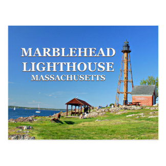 Marblehead Lighthouse, Massachusetts Postcard