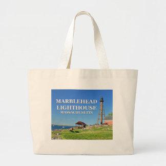 Marblehead Lighthouse, Massachusetts Tote Bag