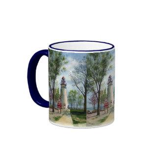 Marblehead Lighthouse Ringer Coffee Mug