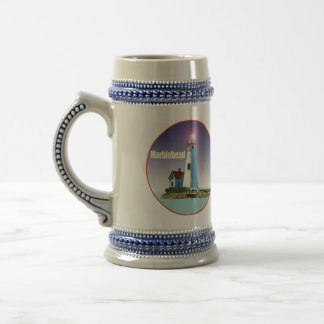 Marblehead Lighthouse 18 Oz Beer Stein