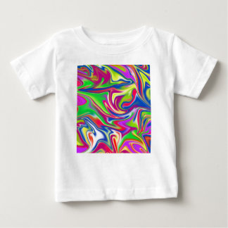 Marbleized Candy Liquid,_ Baby T-Shirt