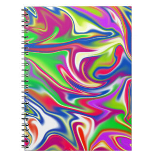 Marbleized Candy Liquid,_ Notebooks