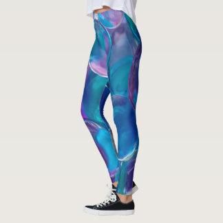 Marbles Blue Dance Leggings