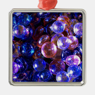 Marbles Metal Ornament