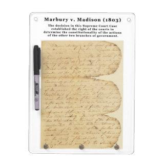 Marbury v. Madison, 5 U.S. 137 (1803) Dry-Erase Whiteboards