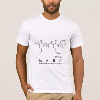 Marc peptide name shirt