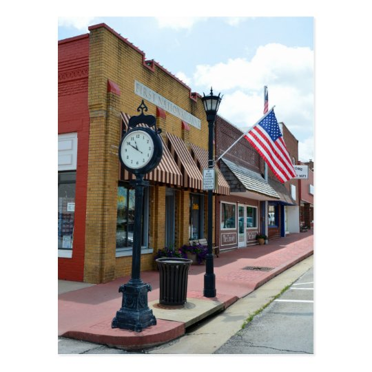 Marceline, Missouri, Main Street USA Postcard