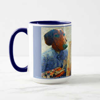 Marcello van Dogh 15 oz Art Mug