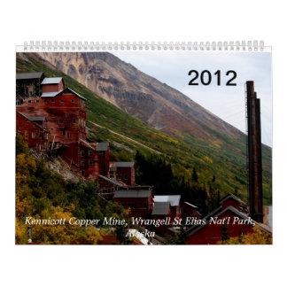 March 2012 to 2013 Alaska Calendar