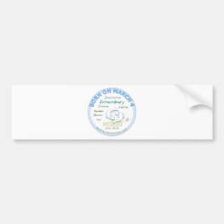 March 4th Birthday - Pisces Bumper Sticker