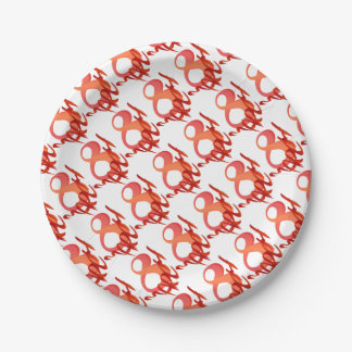 March 8 paper plate