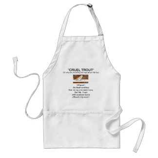"""""""March Brown Natural"""" Wet Fly-Cruel Trout""""  Apron"""