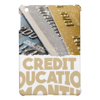 March - Credit Education Month - Appreciation Day iPad Mini Cover
