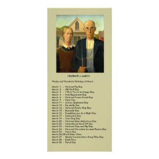 March events 10 cm x 23 cm rack card
