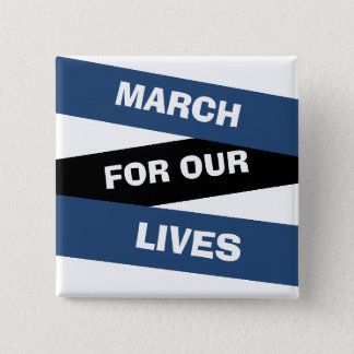 March for our Lives Activism Button