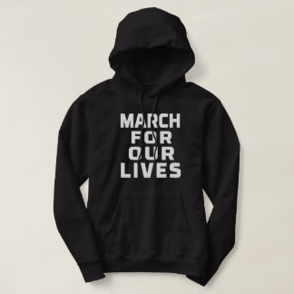 March For Our Lives rally for gun control protest Hoodie