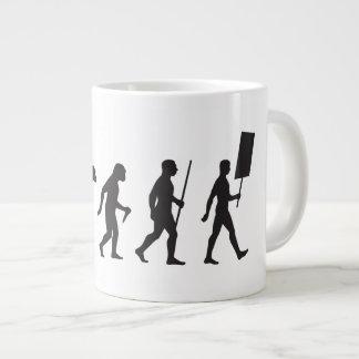 March for Progress Large Coffee Mug