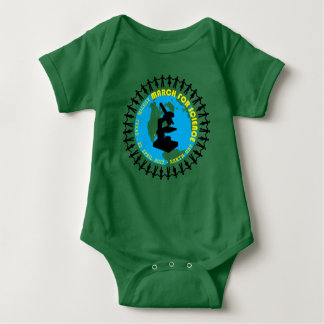 March for Science - Austin 2017 Baby Bodysuit