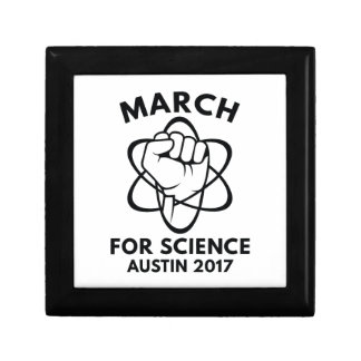 March For Science Austin Gift Box