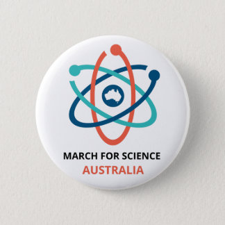March for Science - Australia - 6 Cm Round Badge