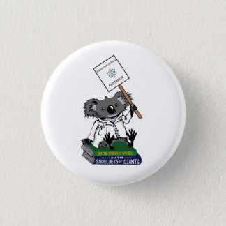 March for Science Australia - Koala - 3 Cm Round Badge