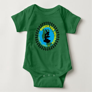March for Science - Earth Day - 22 April 2017 Baby Bodysuit