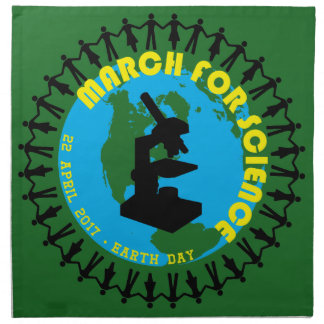 March for Science - Earth Day - 22 April 2017 Napkin