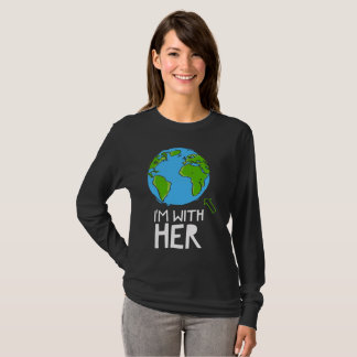 March for science - I'm with her T-Shirt