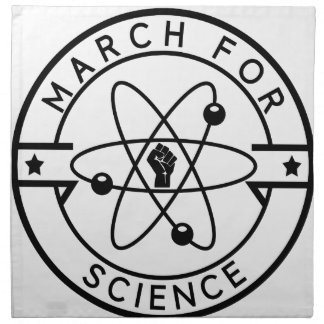 march_for science napkin