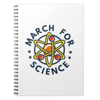 March For Science Notebook
