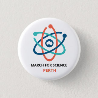 March for Science - Perth - 3 Cm Round Badge