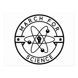 march_for science postcard