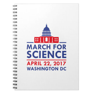 March For Science Spiral Notebook