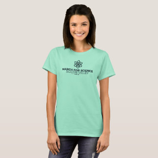 March for Science SV Basic Women's T-shirt Mint