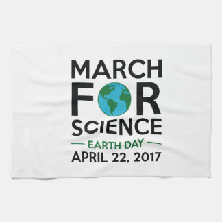 March For Science Tea Towel