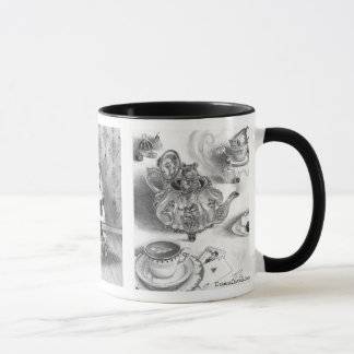 March Hare Dormouse Alice in Wonderland Mug