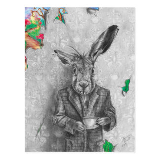 March Hare Postcard