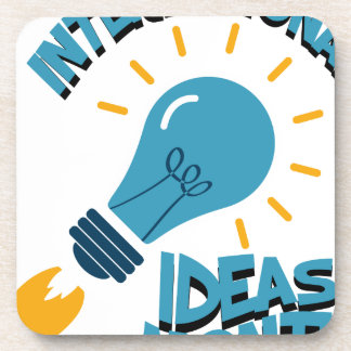 March - International Ideas Month Coaster